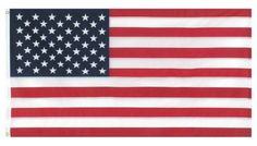5' x 9.5' 100% Cotton Bunting Embroidered Flag in Box Casket Flag by GAMA FLAGS. $29.99