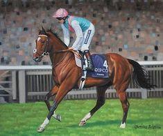 Frankel 2000 Guineas - Newmarket - Racehorse Horse Racing Art - 20x24 | #543307508