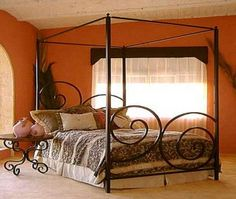 13 Excellent Orange Bed Canopy Foto Ideas & Best 13 Sunburst Canopy Bed Photo Ideas | Canopy Bed | Pinterest ...