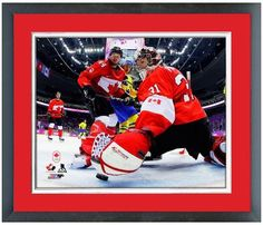Carey Price 2014 Winter Olympics Team Canada - 11 x 14 Matted/Framed Photo