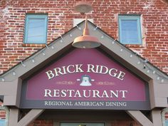 Brick Ridge Restaurant. One of our favs!