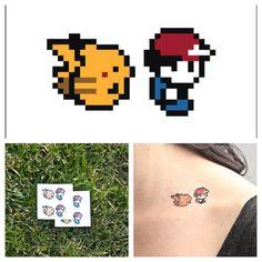 pokemon temp. tattoo