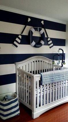 marine babykamer