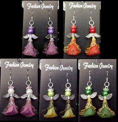 Christmas Angel Earrings | eBay