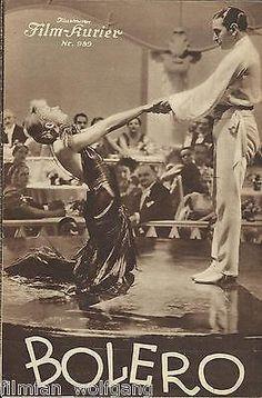 IFK: Nr: 989: Bolero ( Sein letzter Tanz ) Carole Lombard, George Raft,