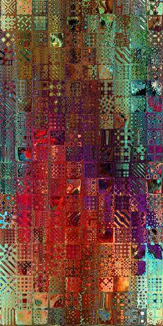 Art Fibres Textiles, Textile Fiber Art, Fiber Art Quilts, Textile Fabrics, Textile Artists, Quilt Modernen, Velvet Upholstery Fabric, Modern Fabric, Fabric Art