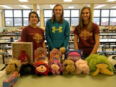 Wyalusing Leos give Christmas gifts to families in need. Club members work throughout the fall to collect new and used toys, collecting gently used items and using cash donations and fundraiser proceeds to purchase new toys. Club members, with help from members of the Wyalusing Lions and Lioness clubs, sorted the items by gender, age group and type Sunday morning before families arrived to choose their gifts.