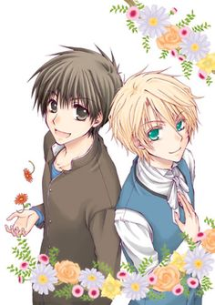 Kyo Kara Maoh: Wolfram and Yuuri They are so cute together >,<