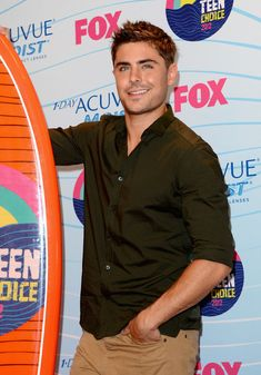 Zac Efron wins Choice Movie Actor (Drama) award at the 2012 TCAs ~ press room at Gibson Amphitheatre on July 22, 2012 in Universal City, California
