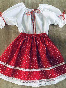 Folklórny komplet / ivapetrovska - SAShE.sk - Handmade Šaty Skater Skirt, Summer Dresses, Skirts, Fashion, Moda, Summer Sundresses, Fashion Styles, Skater Skirts, Skirt