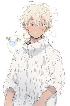 Anime Character Drawing, Character Art, Character Design, Art Drawings Sketches, Cute Drawings, Conan, Amuro Tooru, Anime Child, Cartoon Art Styles