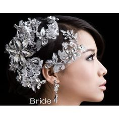 Find More Hair Jewelry Information about New Luxurious hair jewelry pearl… Headpiece Jewelry, Hair Jewelry, Pearl Jewelry, Women Jewelry, Handmade Accessories, Handmade Jewelry, Wedding Headdress, Hair Chains, Silver Rhinestone