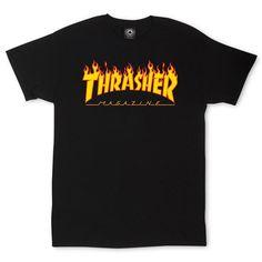 Thrasher Magazine Flame Logo T-Shirt