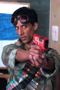 One of my favourite geeks of all time. Abed Nadir. :)