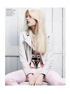 Daphne Groeneveld by Josh Olins for Vogue China February 2012