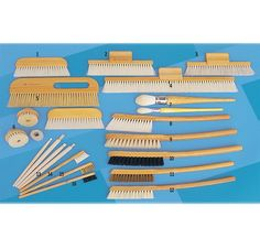 Conservation brushes collection