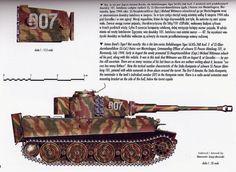 The Tiger I (pz kfpw VI) 007 of Michael Wittmann