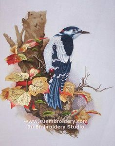 kazari embroidery art birds | If you find this article useful, please spread the word by sharing it ...