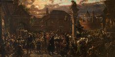 Wyjście żaków z Krakowa w roku 1549 Wyjście żaków krakowskich z miasta w 1549 r