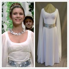 Princess Leia's Ceremonial Gown Star Wars A New Hope ... How Old Was Princess Leia In A New Hope