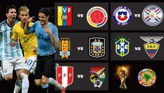 A cuatro jornadas del fin de las eliminatorias sudamericanas para el Mundial de 2018 se disputa una fecha intensa.