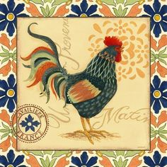 Provencal Rooster Cavailiere (Jennifer Brinley)