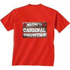 New World Graphics Men's University of Louisville Welcome Sign T-shirt (Red, Size Medium) - NCAA Licensed Product, NCAA Men's Tops at Academy Sports