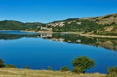 The small village of Mascioni near the beautiful lake of Campotosto in Abruzzo www.abruzzoupndown.com