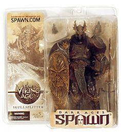 Amazon | SKULLSPLITTER with MASK R3 Repaint Variant Figure フィギュア Spawn スポーン series 22 the Viking Age McFarlane マクファーレン Toys [並行輸入品] | フィギュア・ドール 通販