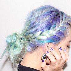 Unicorns don't listen to insults, only compliments about their #RAD #EPIC #HECTIC hair