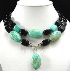Turquoise Jewelry | Jewelry Turquoise Coral jade Pearl Pendant Necklace fashion jewelry ...