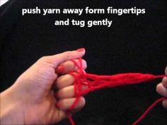 Finger Knitting 4 Kids - YouTube BEST tutorial for bracelet. Try adding finger knitted flower to decorate.