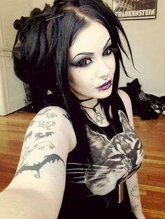 #Goth girl cutie