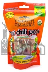 Feliz 5 de mayo. YumEarth Organics Hot Chili Pops