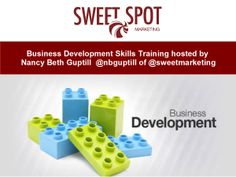 BUSINESS SKILLS DEVELOPMENT TRAINING WITH SWEET SPOT MARKETING CANADA.  During this 1/2 day workshop, participants learn how they can expand their business and reach new markets through implementing strategic lead generation and client attraction programs that include a blend of digital and traditional business development strategies.  http://sweetspotmarketingacademy.ca/contact #BusinessSkills #BusinessDevelopment