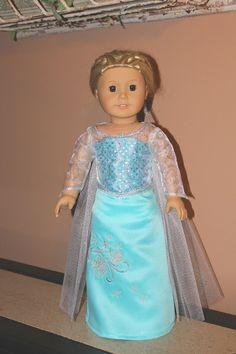 Disney's Frozen Inspired Elsa the Snow Queen by MissAddisonsCloset, $39.00