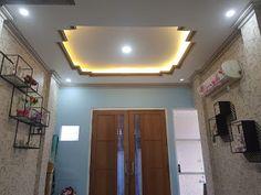 50 Ide Pasang Gypsum Plafon Gypsum Ruang Keluarga Mewah Cermin Kamar Mandi