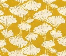Royal Ginko - mustard - fabric by frumafar on Spoonflower - custom fabric Leaf Prints, Floral Prints, Cotton Pictures, Mellow Yellow, Mustard Yellow, Spoonflower Fabric, Textures Patterns, Leaf Patterns, Pretty Patterns