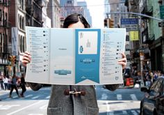 KLM Must See Map combines social media with print #airlines #socialmedia