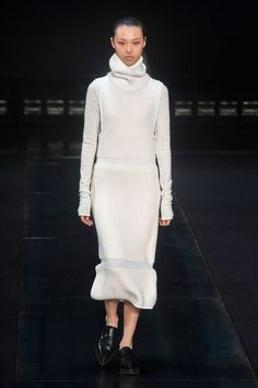 Trend: Knit **Comments: This is a remarkable take on the sweater dress and I can't get enough! Love it!