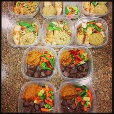 IG: t1nstar Meal Prep Monday