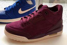"""9d8fa0b7d3c9 Jordan Brand Unveils Air Jordan 3 """"Burgundy"""" Colorway"""