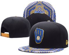 Milwaukee Brewers Kaleidovize Snapback Hats|only US$6.00 - follow me to pick up couopons.