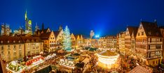 #christmasmarkets It is the spirit of giving without the thought of getting... Christmas market in Frankfurt, Germany www.cheapbestfares.com