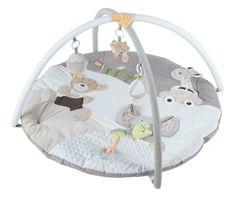 MiniDream Musical Baby Large Playmat Tummy Time  Activity Gym Floor Mat Beige  | eBay