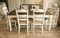 Farmhouse Off White Dining Set