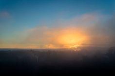 https://flic.kr/p/ijVkVq | Beyond fog rises the light | Foggy morning in Quedlinburg