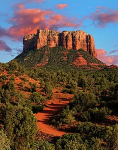 Courthouse Rock   Sedona,  Arizona   Photo by Jeffrey Campbell on Fine Art America