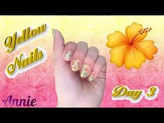 #31 Day Challenge / Dia 3 / Yellow Nails