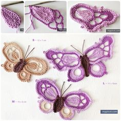 Crochet Butterfly Bookmark With FREE Pattern